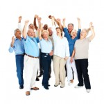 Group-of-seniors-cheering