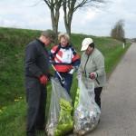 Affaldsindsamling i Blans